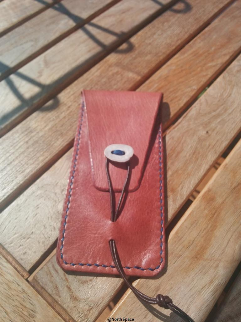 Watch pouch, reindeer leather and antler button.jpg