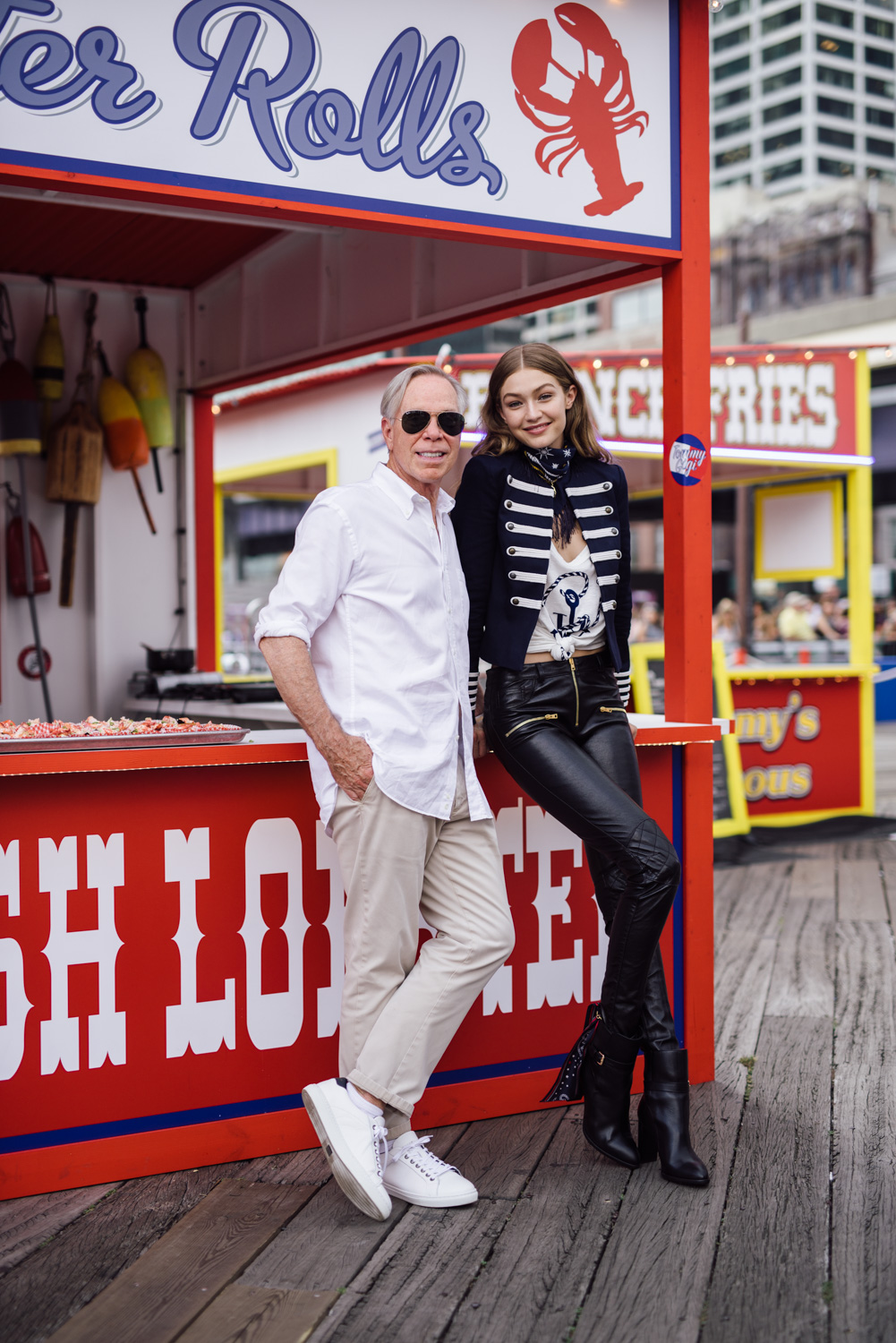 WWD New York Fashion Week Tommy Hilfiger Gigi Hadid
