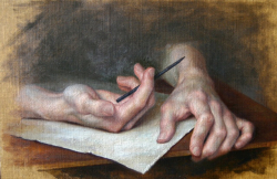 Portrait of Hands, Kamille Corry