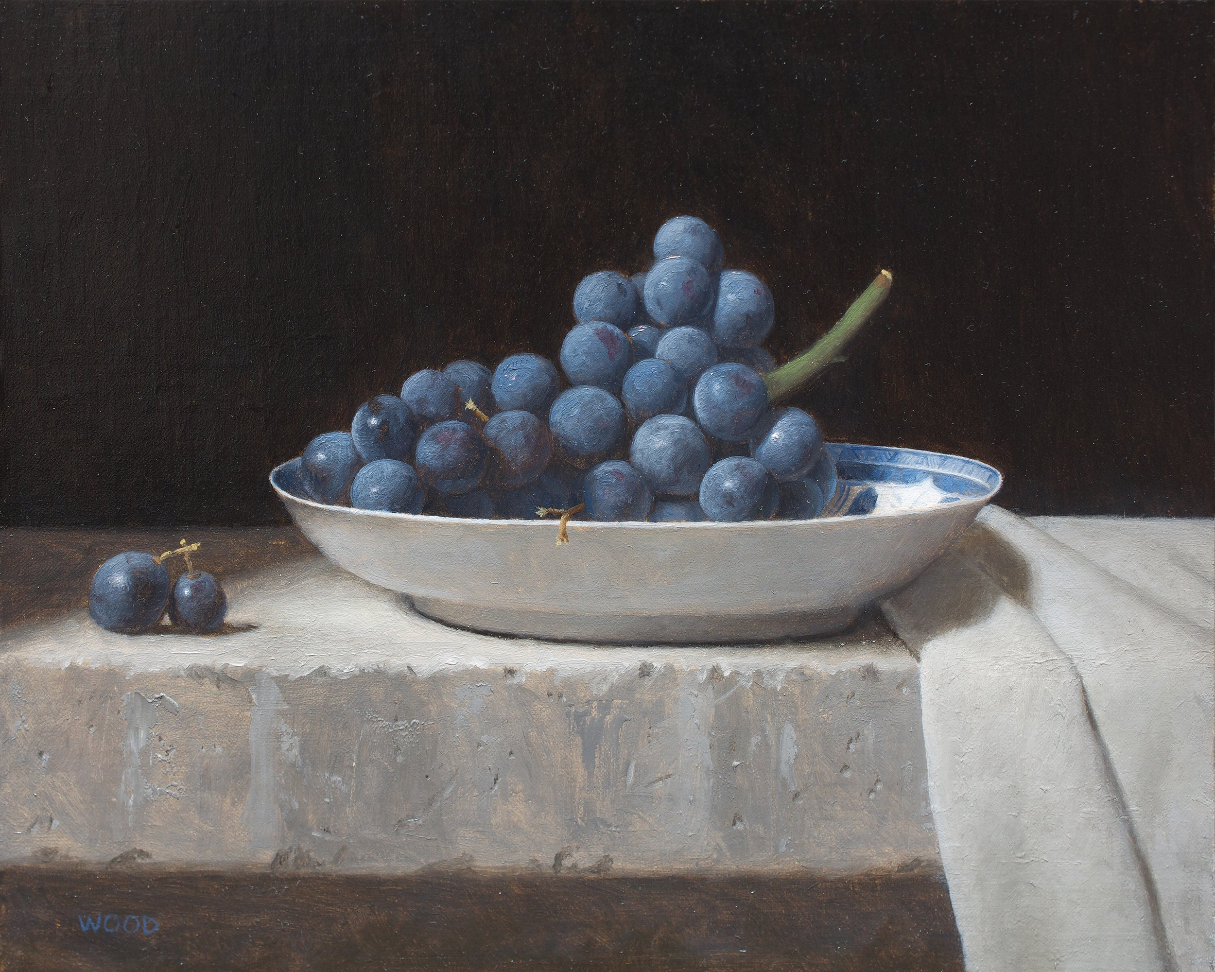 Blueberries, Justin Wood