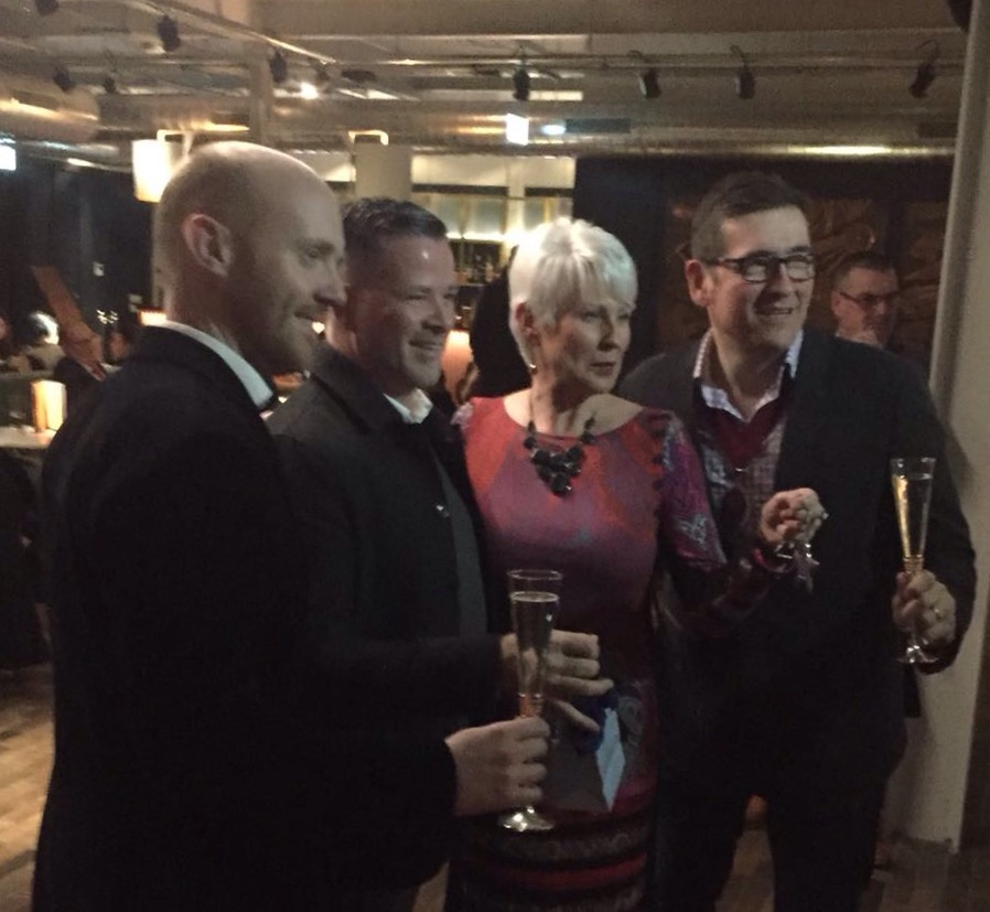 Barra best , Gary Stewart , Pamela Ballentine , Michael Cafolla