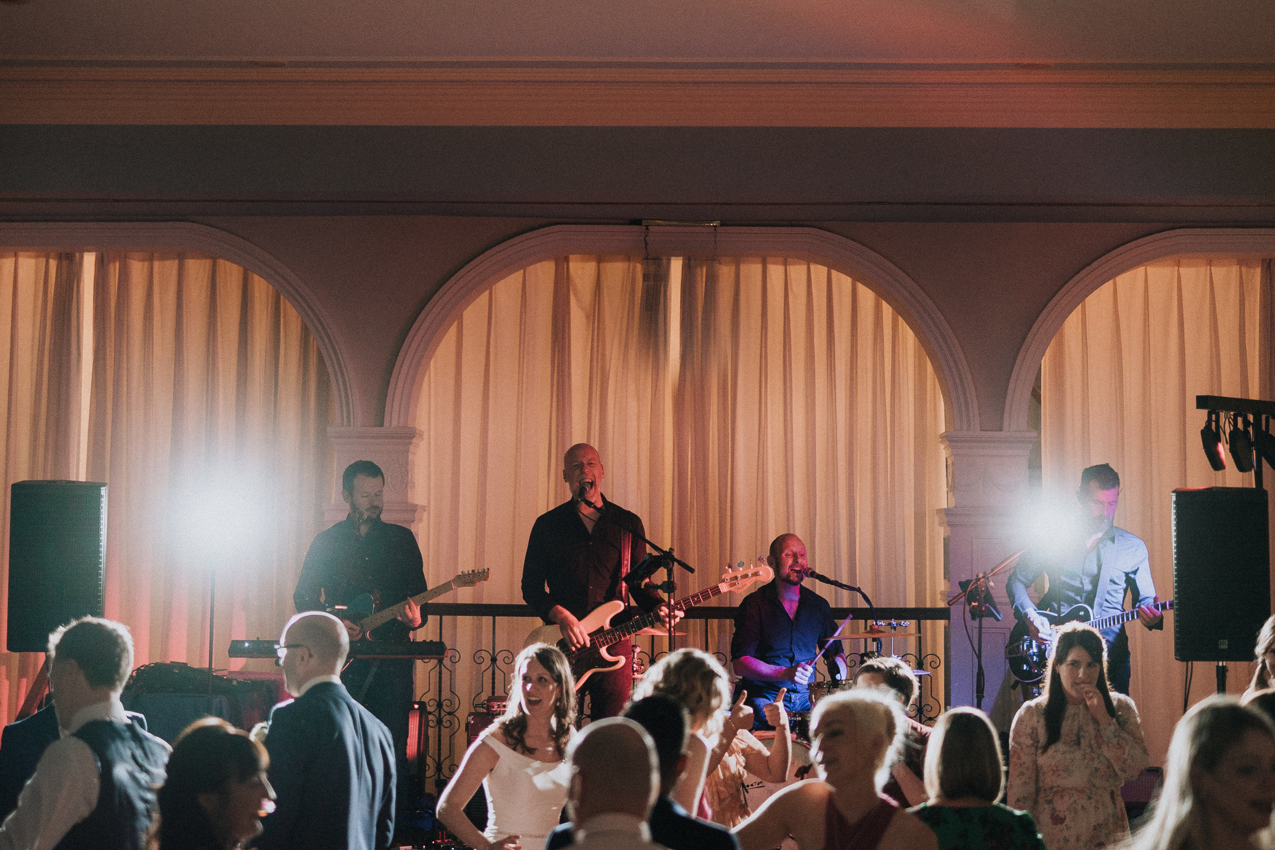 Real Music, Real Good! - Entertaining the happy couple and their wedding guests @ Killashee House Hotel, June 2019.Photo - Pawel Bebenca Wedding Photography