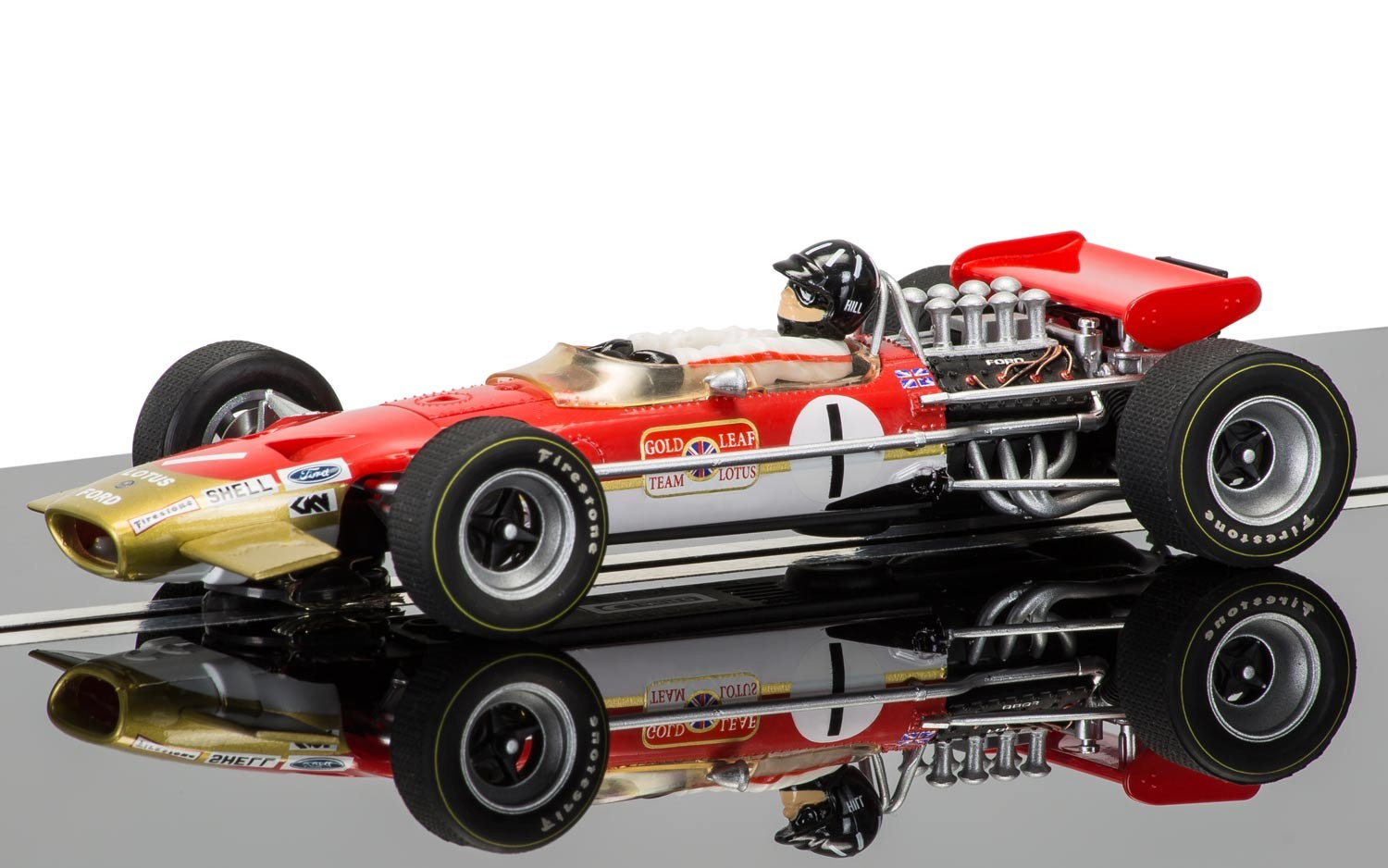 3701a    Lotus 49, driven by Graham Hill, Scalextric
