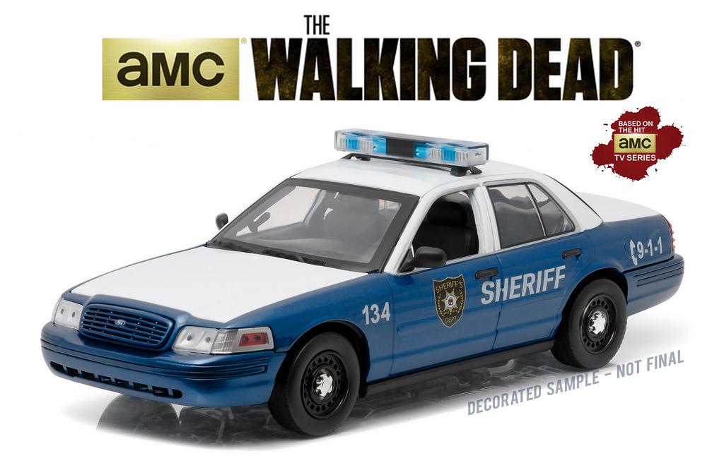 "12957  Ford Crown Victoria police interceptor ""The Walking Dead"", Greenlight"