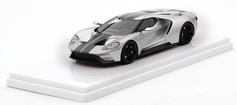 "TSM164342  Ford GT Zilver ""Chicago auto Show"", Truescale Miniatures"