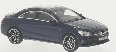 B66960387  Mercedes-Benz CLA Coupé, (C117) cavansiteblauw, Kyosho