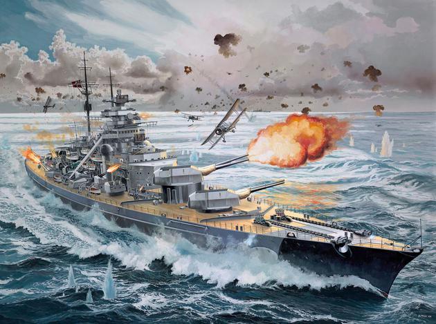 "5144  Bismarck ""Limited Edition, Platinum Edition"""