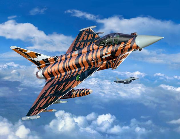 "3949  Eurofighter Typhoon ""Bronze Tiger"""
