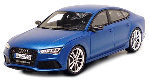 501.14.170.13  Audi RS7 2015, matblauw, Spark