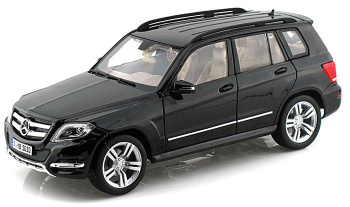 11008MB  Mercedes-Benz GLK-Class, zwart (GTA Edition), Welly