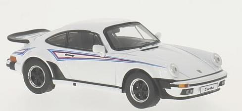 PRD109  Porsche 911 Turbo 1975 wit/Martini Edition, PremiumX