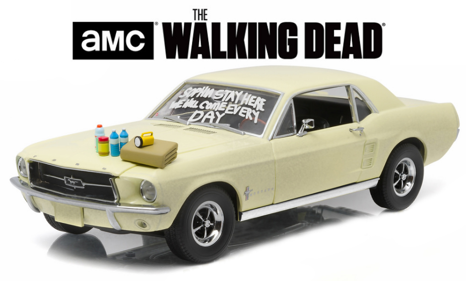 """12958  1967 Ford Mustang Coupé, """"The Walking dead"""", Greenlight"""