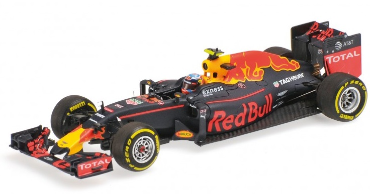 """417160333  Red Bull RB12 #33 Max Verstappen """"1st Win, Spanish GP"""", Minichamps"""