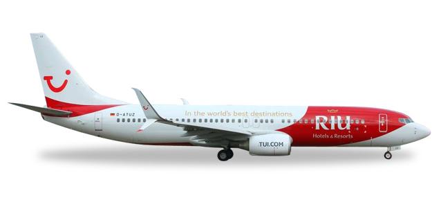 "529402  Boeing 737-800 ""TuiFly Riu ""Hotels & Resorts"