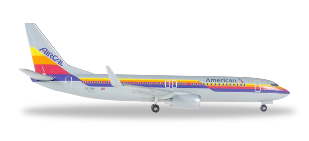 """529631  Boeing 737-800 """"American Airlines Air Cal Heritage Livery"""""""