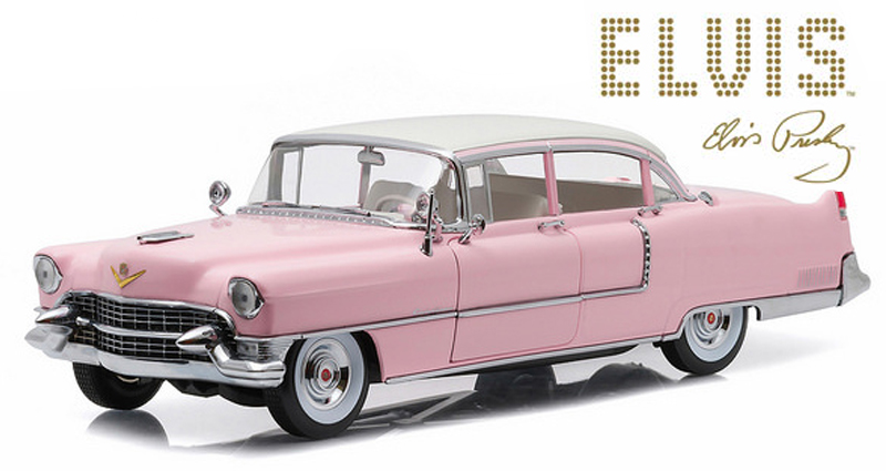 "86491  1955 Cadillac Fleetwood Series 60 ""Elvis"", Greenlight"