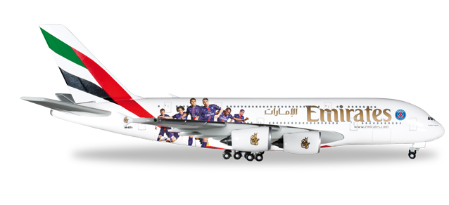 "529440  Airbus A380-800 ""Emirates Pasris St. Germain"""