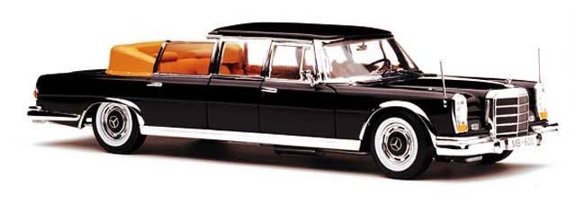 2302  1966 Mercedes-Benz 600 Landaulet, Sunstar
