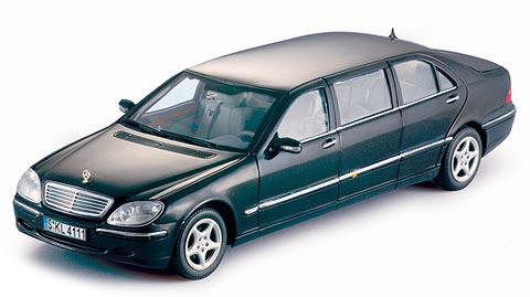 4111  2000 Mercedes-Benz S600 Pullman, Sunstar