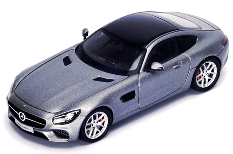 S4906  Mercedes-Benz AMG GT 2015, grijs, Spark