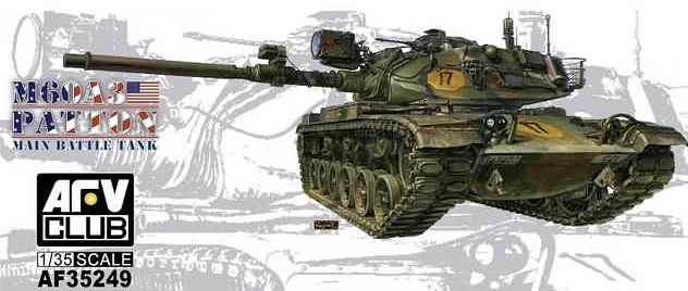 35249  M60A3 Patton Main Batlle Tank