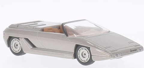 WB508    Lamborghini Athlon bertone, 1980, met. grijs, Whitebox