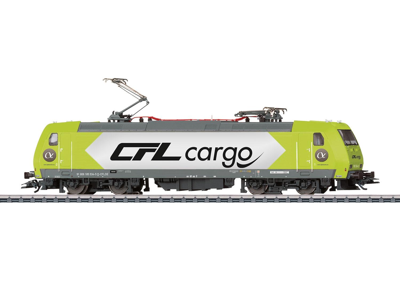 36632 : E-Lok reeks 185 gehuurd door de CFL Cargo maatschappij.