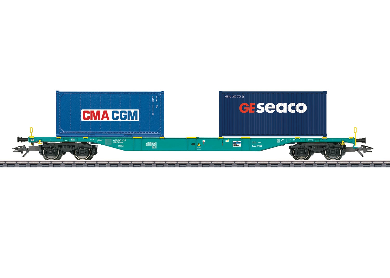 47056 : containertransportwagens B-Cargo
