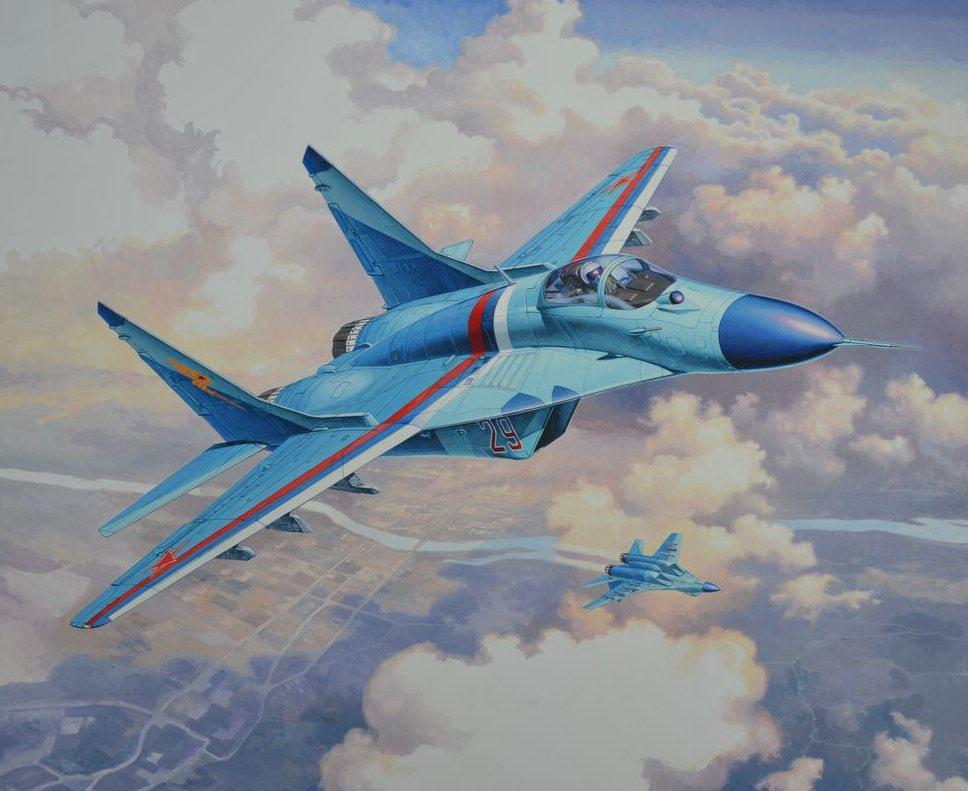 """3936  MiG-29S """"Fulcrum"""""""