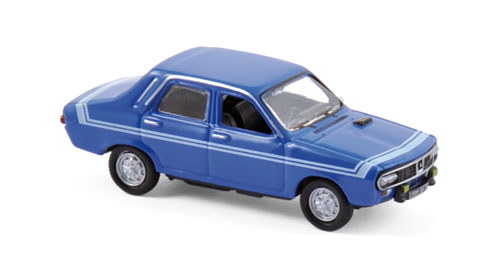 511255  Renault 12 Gordini 1971, Bleue-de-france blauw