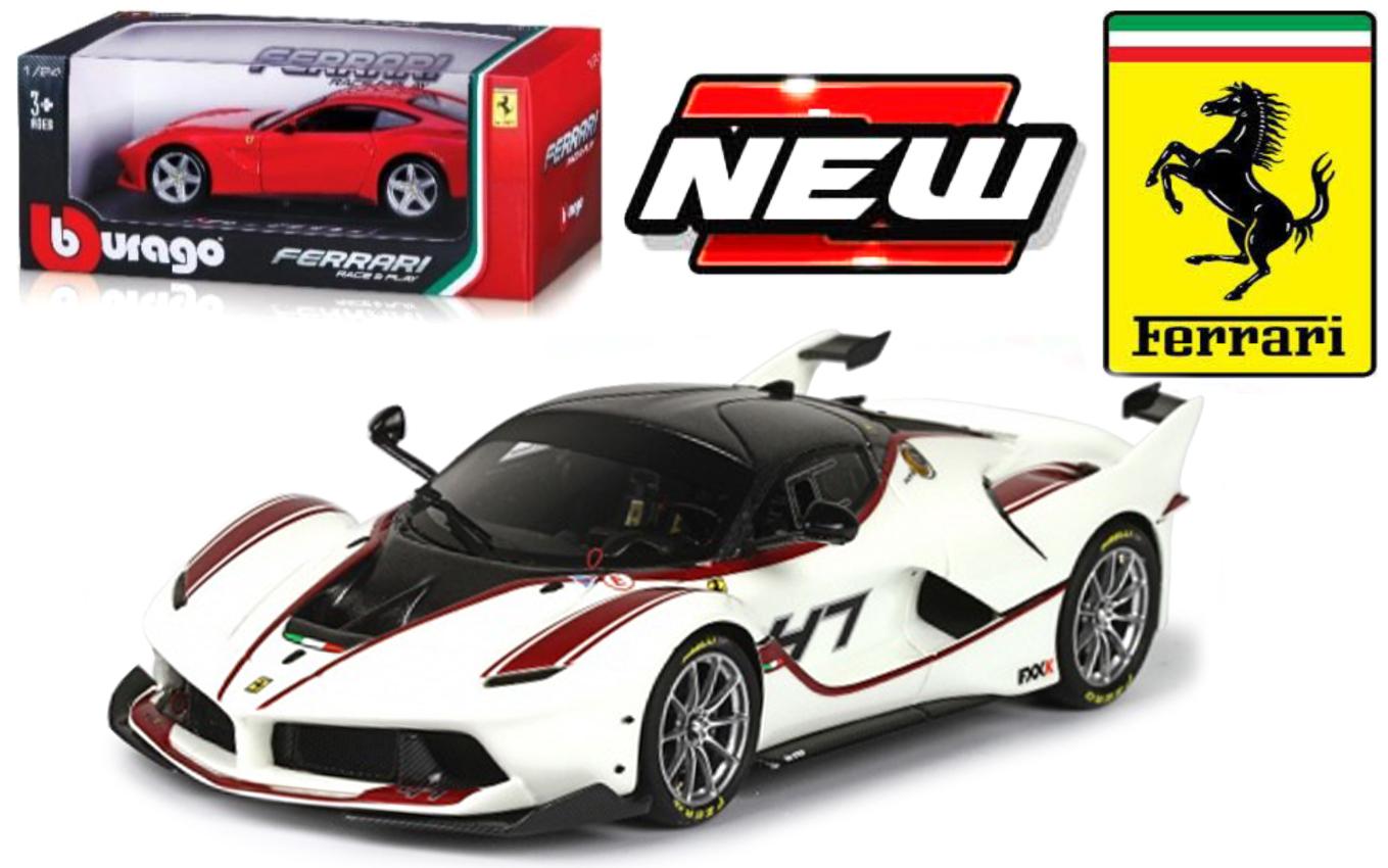 18-26301  Ferrari FXX K, wit, Bburago