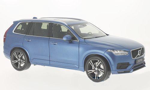 11009MB  2015 Volvo XC90, met. blauw, Welly