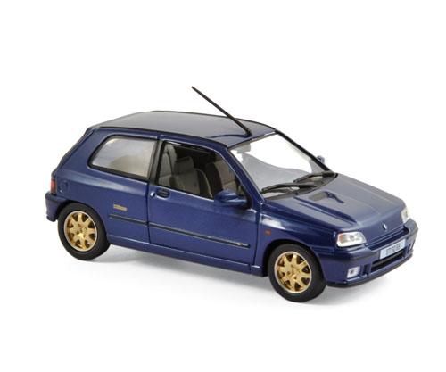 517521  Renault Clio Williams, blauw, 1996, Norev