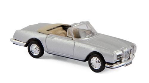 453003  Facel Vega III Cabriolet 1963, zilver, Norev