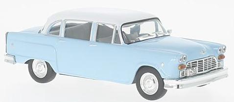 WB202  Checker Marathon 327, 1964, lichtblauw/wit, Whitebox