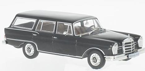 WB207  Mercedes-Benz 230 S Universal, 1967, zwart, Whitebox