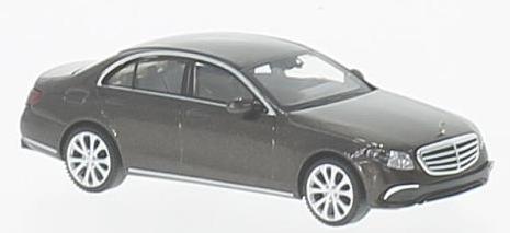 22703  Mercedes-Benz E-klasse W213 Exclusive, met. donkerbruin