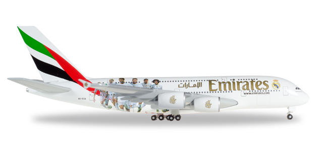 "529242    Airbus A380-800 ""Emirates - Real Madrid"""