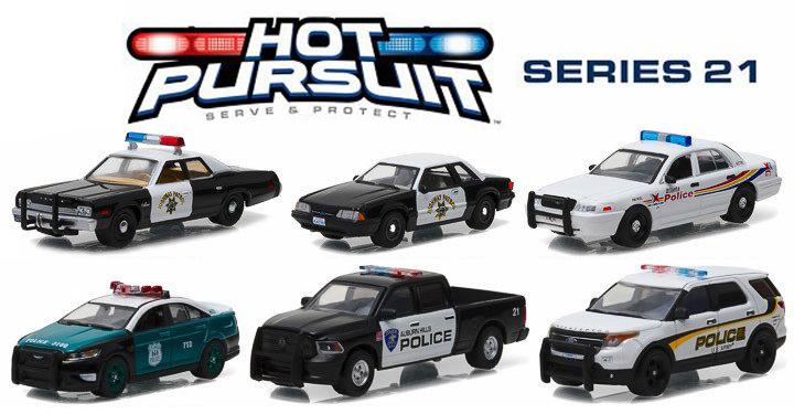 42780  Hot Pursuit Serie 21, Greenlight