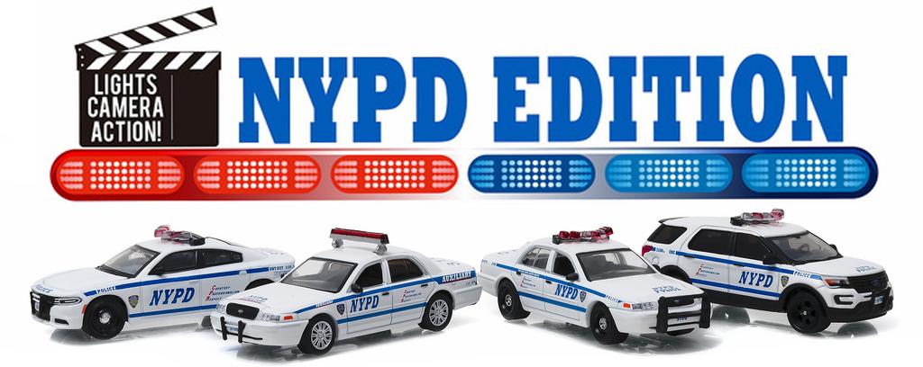 59050B  Hollywood Film Series: NYPD Edition, Greenlight