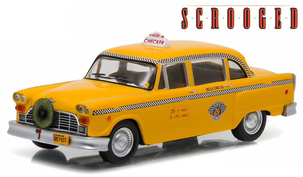 """86075  1978 Checker Taxi """"Scrooged"""", Greenlight"""
