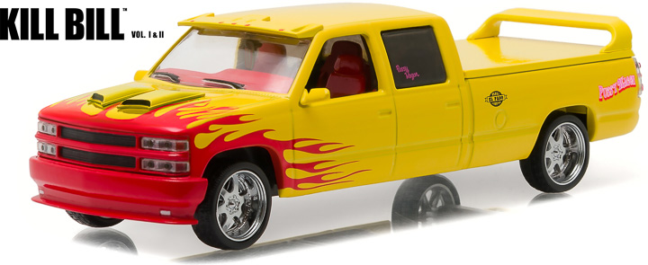 "86481  '97 Chevy 2500 ""Kill Bill, Pussy Wagon"", Greenlight"
