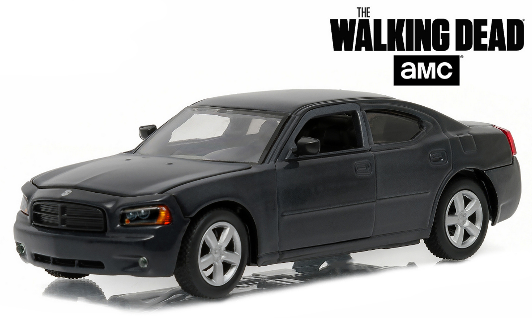 """86505  Daryl Dixon's 2006 Dodge Charger Police """"The Walking Dead"""", Greenlight"""