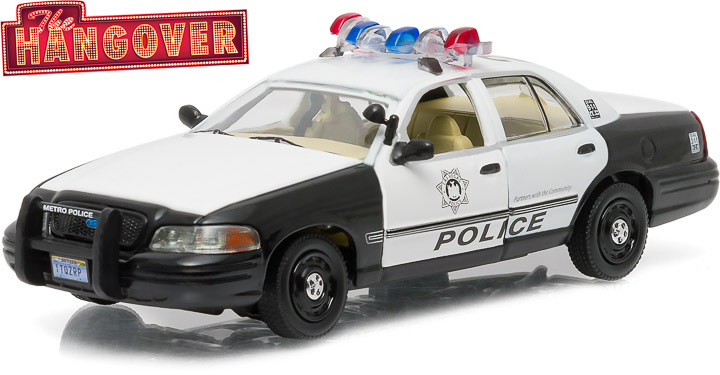 """86506  2000 Ford Crown Victoria Police Interceptor, """"The Hangover"""", Greenlight"""