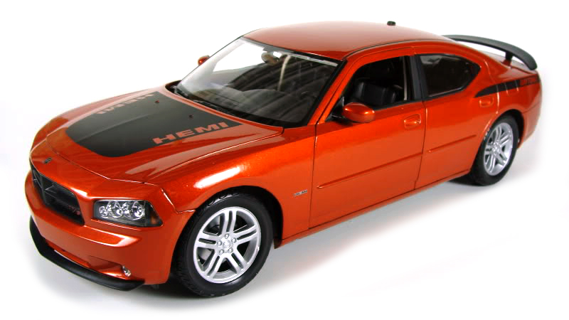 22476S-W  2006 Dodge Charger R/T, koper, Welly
