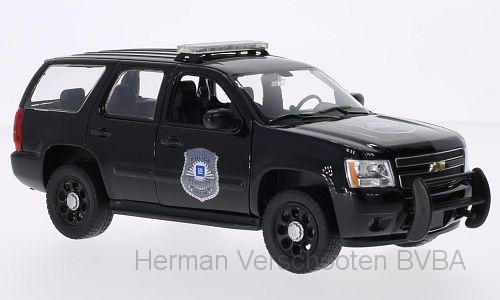 22509BP-W  2008 Chevrolet Tahoe Police, Welly