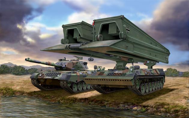 3307  Leopard 1A5 + Biber