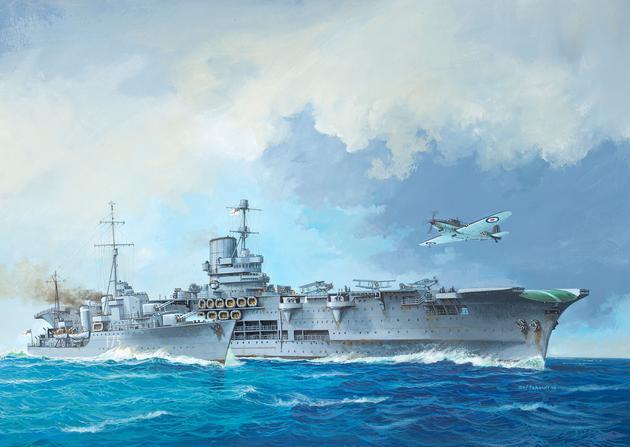 5149  Tribal Class Destroyer HMS Ark Royal