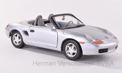 73226  Porsche Boxster, zilver, Motor Max