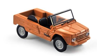 310507  Citroën Méhari, oranje, Norev